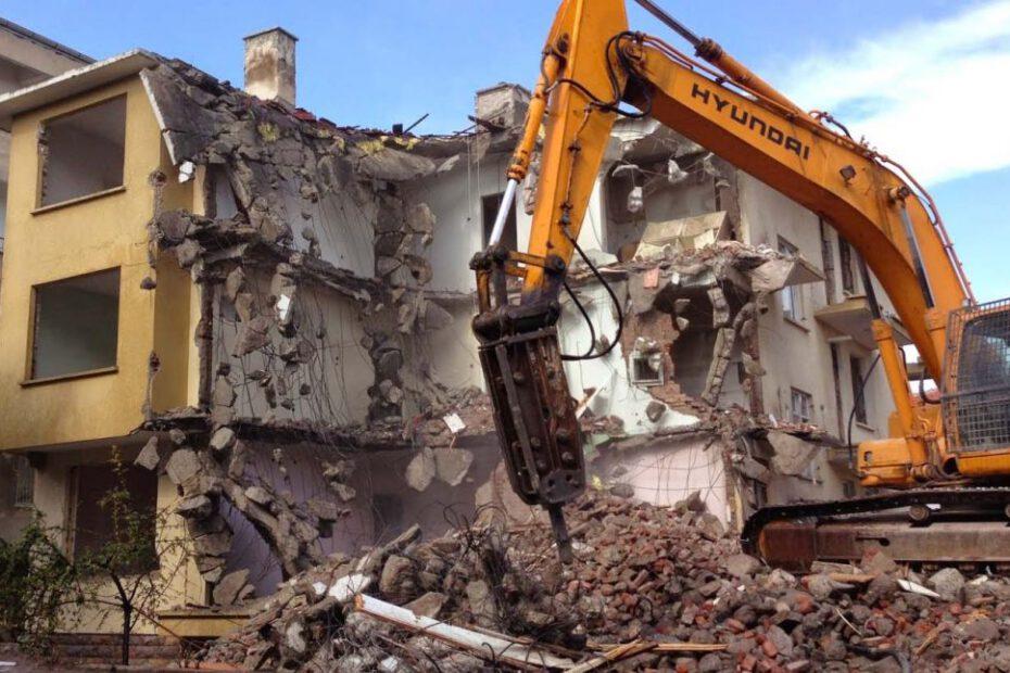 İstanbul Bina Yıkım Hurdası